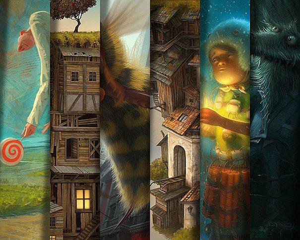 Trabalhos impressionantes de Gediminas Pranckevicius utilizando arte conceitual surreal