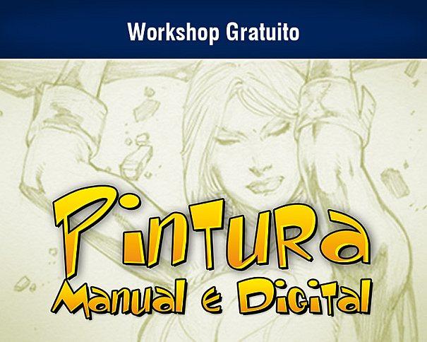 Workshop gratuito promovido pela Proway para pintura manual e digital