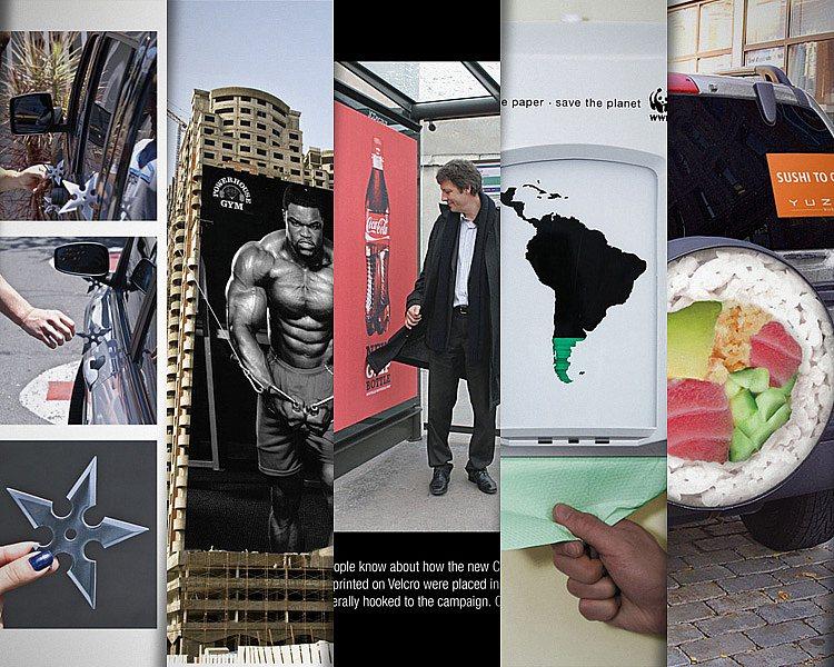 Inspiração  2 - 40 Ações criativas de marketing de guerrilha ... 3fb32311f25